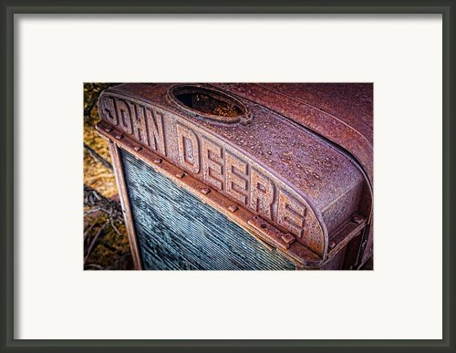 Jd Grille Framed Print By Inge Johnsson