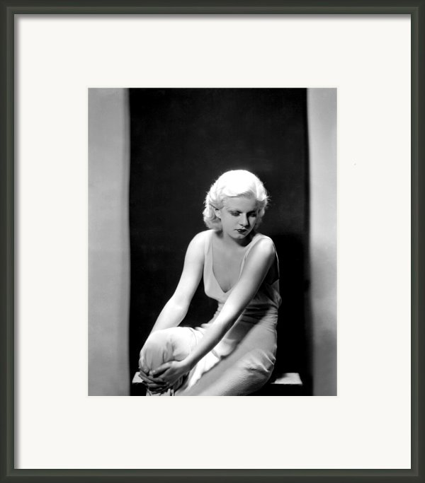 Jean Harlow, 1932 Framed Print By Everett