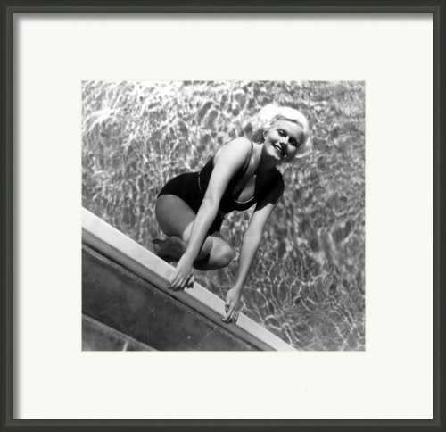 Jean Harlow, Mgm, Ca. Early 1930s Framed Print By Everett