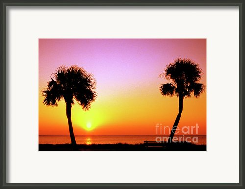 Jekyll Island Sunrise Framed Print By Thomas R Fletcher