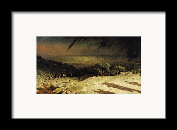 Jerusalem Framed Print By Jean Leon Gerome