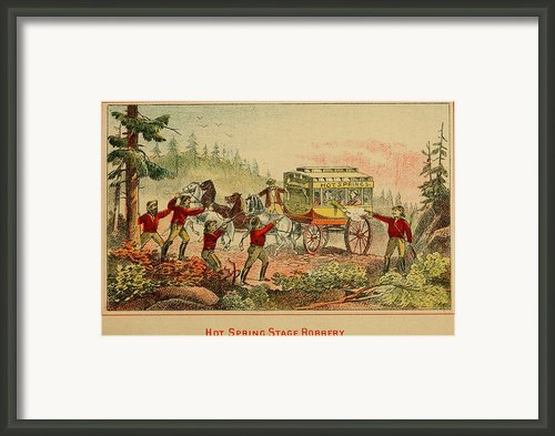 Jesse And Frank James, Cole, John Framed Print By Everett