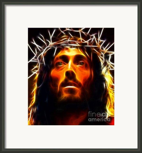 Jesus Christ The Savior Framed Print By Pamela Johnson