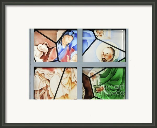 Jesus Is Chinese Framed Print By Christine Till