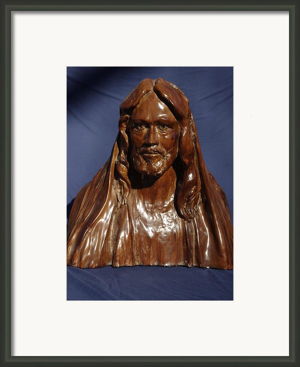 Jesus Of Nazareth Framed Print By Rick Ahlvers