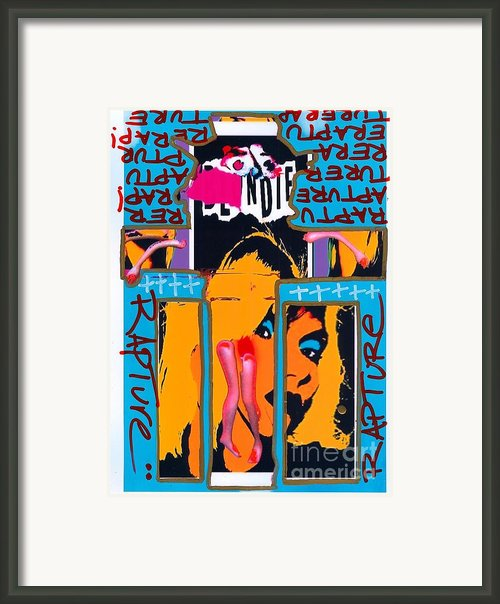 Jesus Rapture Framed Print By Ricky Sencion
