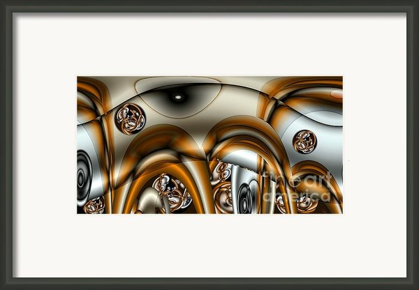 Jet Stream Framed Print By Ron Bissett