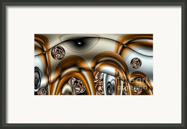 Jet Stream Framed Print By Ron Bissett