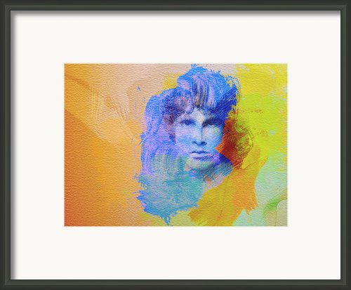 Jim Morisson Framed Print By Irina  March