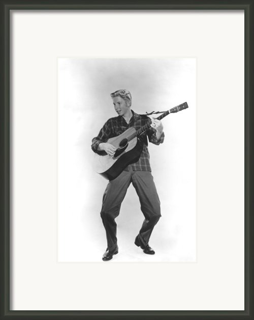 Jimmy Boyd, Ca. 1958 Framed Print By Everett