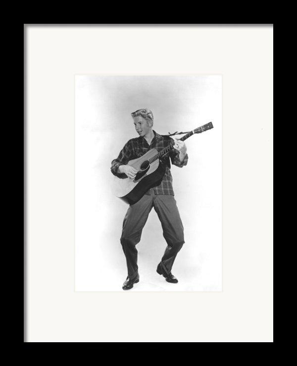 Jimmy Boyd, Ca. 1958 Framed Print By Everett