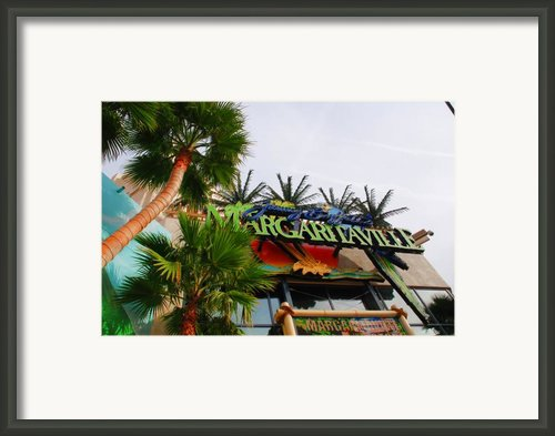 Jimmy Buffets Margaritaville In Las Vegas Framed Print By Susanne Van Hulst