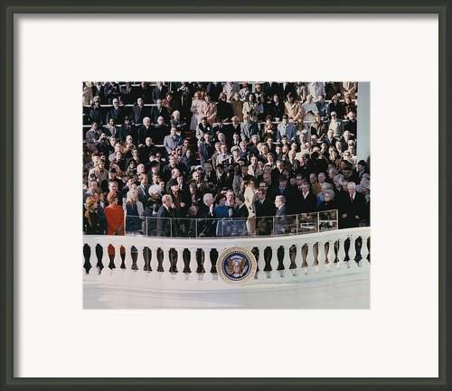 Jimmy Carters 1976 Inauguration Framed Print By Everett