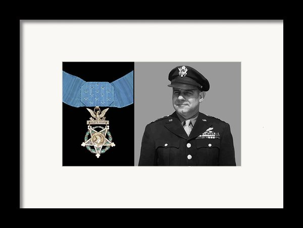 Jimmy Doolittle And The Medal Of Honor Framed Print By War Is Hell Store