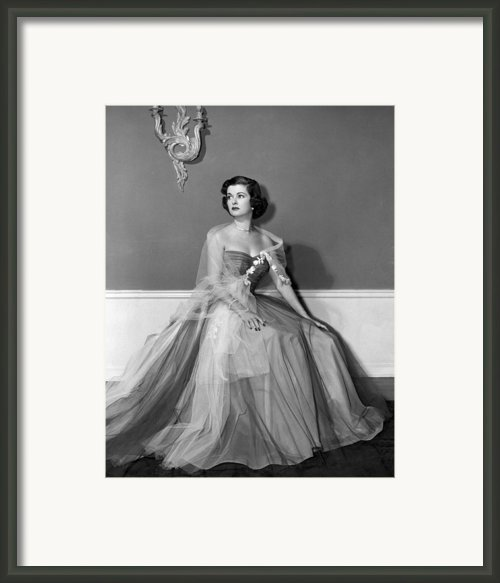 Joan Bennett, Ca. Early 1950s Framed Print By Everett
