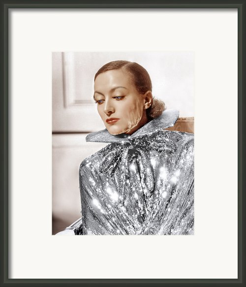 Joan Crawford, Photo By Hurrell, Ca Framed Print By Everett