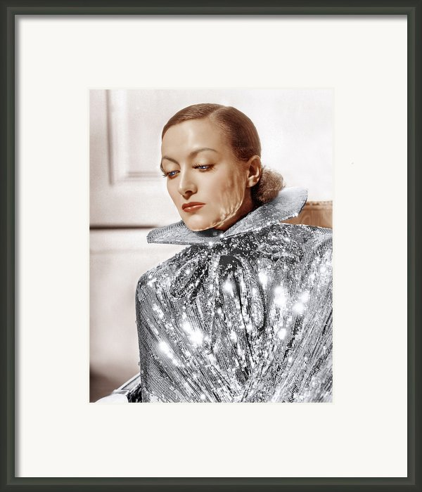 Joan Crawford, Photo By Hurrell, Ca Framed Print By Everett