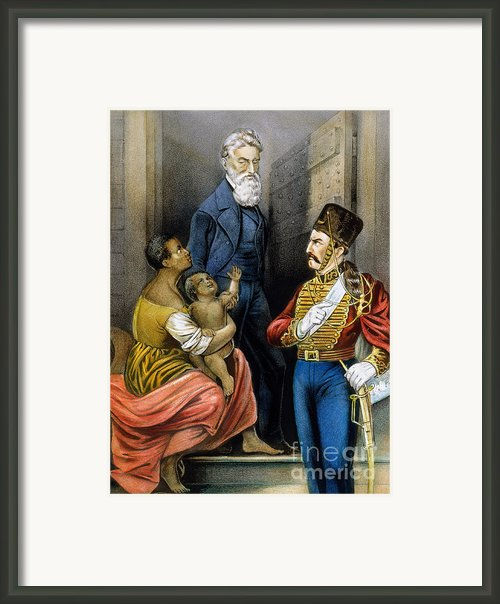 John Brown (1800-1859) Framed Print By Granger