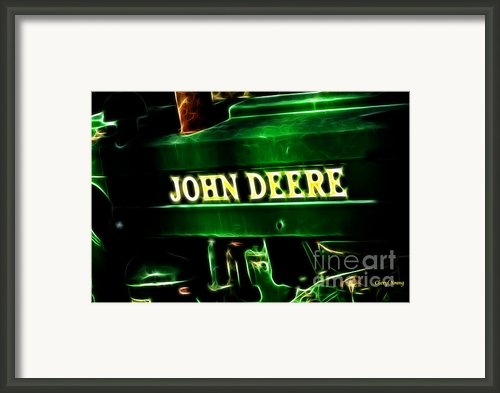 John Deere 2 Framed Print By Cheryl Young