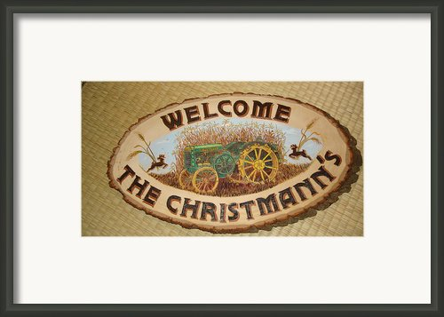 John Deere Framed Print By Dakota Sage