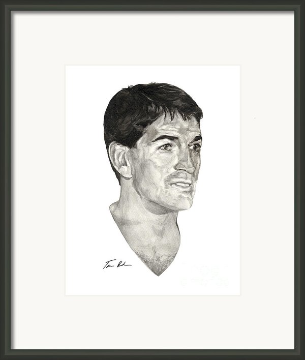John Stockton Framed Print By Tamir Barkan