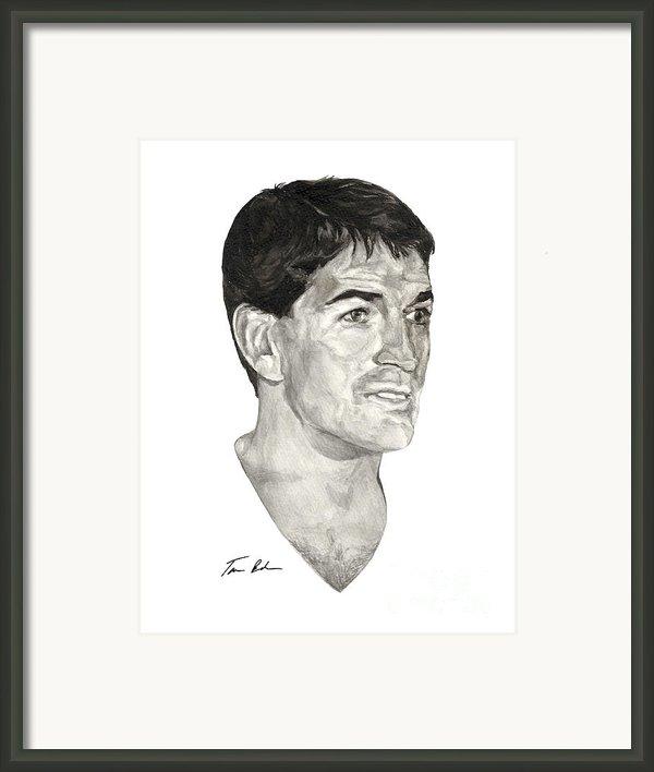 John Stockton Framed Print By Tamir Barkan