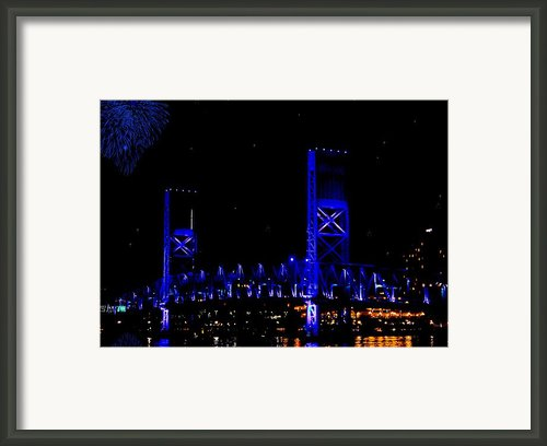 John T Alsop Jr Bridge Framed Print By Digiart Diaries By Vicky Browning