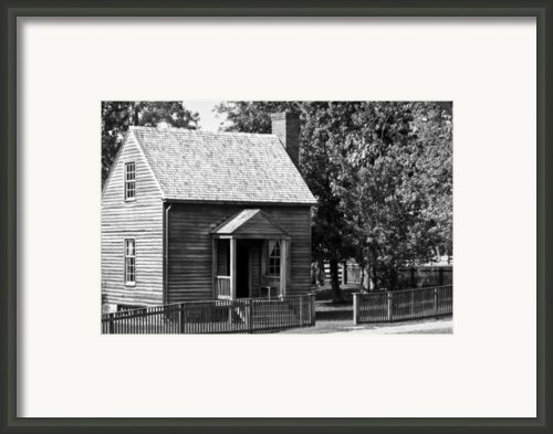 Jones Law Office Appomattox Virginia Framed Print By Teresa Mucha