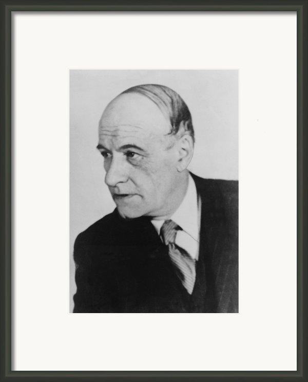 Jos� Ortega Y Gasset 1883-1955, Spanish Framed Print By Everett