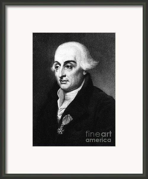 Joseph-louis Lagrange, European Framed Print By Science Source