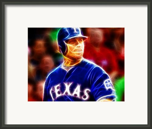 Josh Hamilton Magical Framed Print By Paul Van Scott