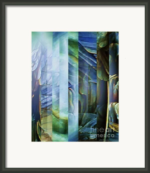 Journey Inward 1 Framed Print By Brigetta  Margarietta