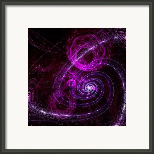 Journey Through The Time Framed Print By Stefan Kuhn