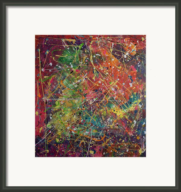 Joy Framed Print By Orly Shalem
