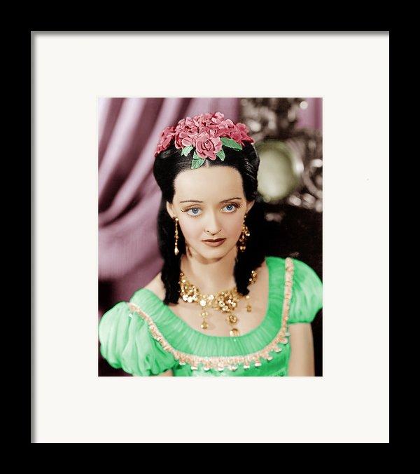 Juarez, Bette Davis, 1939 Framed Print By Everett