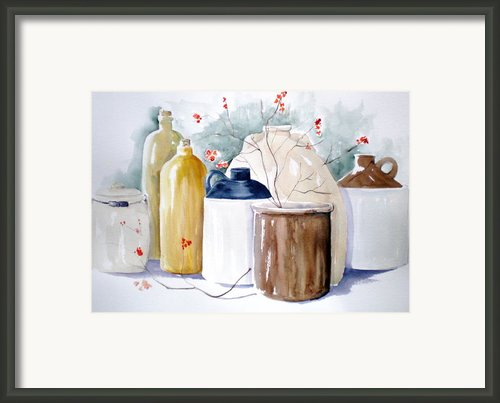 Jugs Framed Print By Lisa Schorr