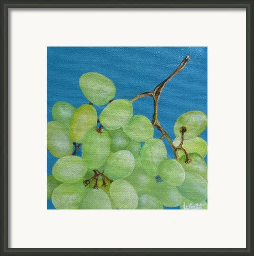 Juicy Grapes Framed Print By Tammy Watt
