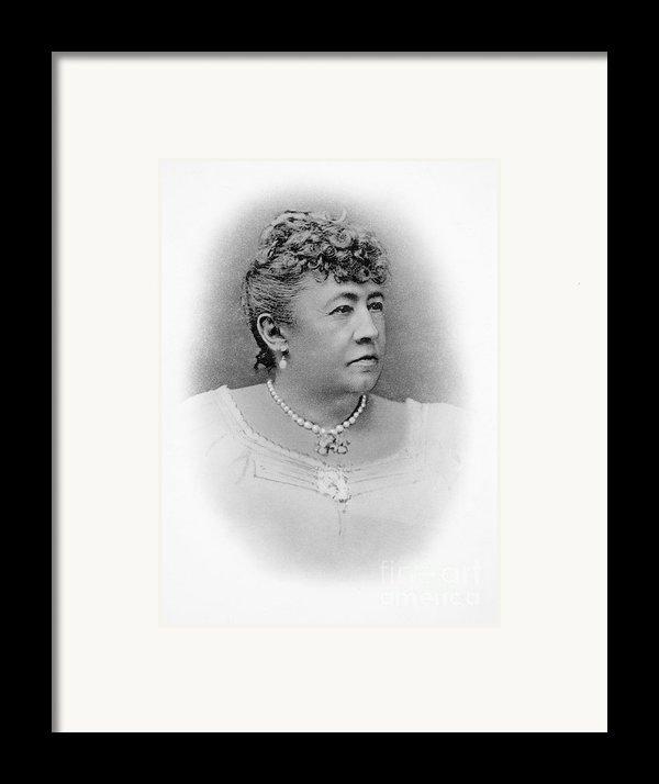Julia Dent Grant (12826-1902) Framed Print By Granger