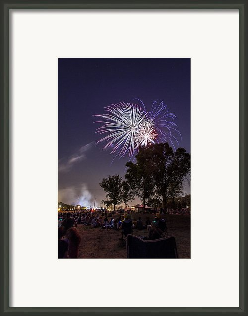 July 4th 2012 Framed Print By Cj Schmit