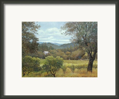 June Morning Framed Print By Paul Youngman