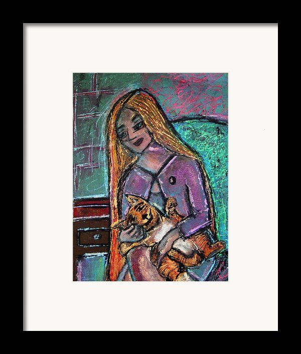 Just Fine Alone  Framed Print By Tammy Cantrell
