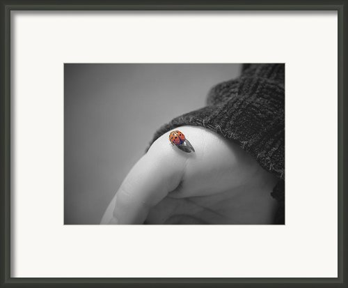 Just For A Moment Framed Print By Aimelle