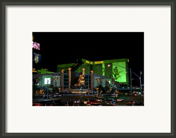 Just Grand Framed Print By Charles Warren