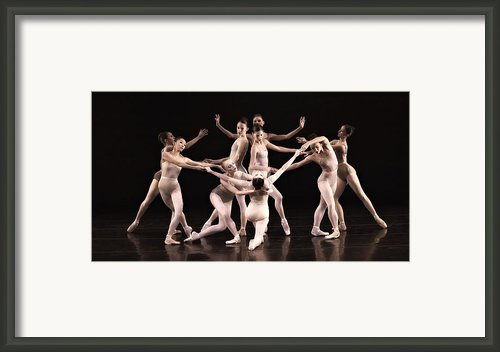 Just The Gals Framed Print By Kenneth Mucke