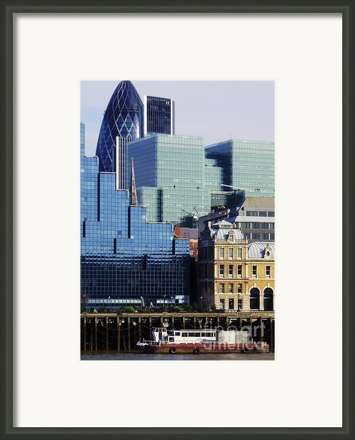 Juxtaposed Framed Print By John Clark