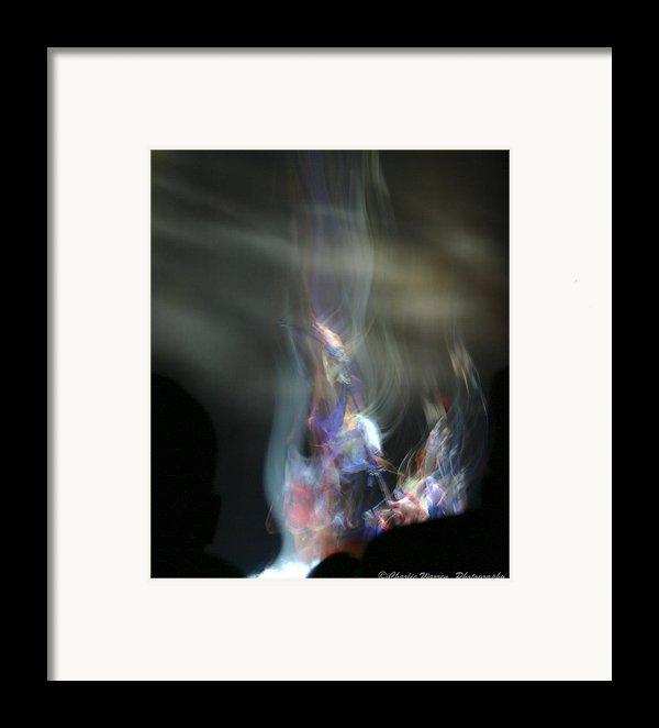Ka - Dance Like A Dervish  Framed Print By Charles Warren