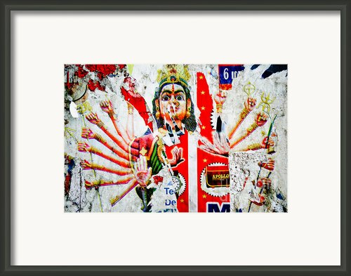 Kaliyuga Framed Print By Dev Gogoi