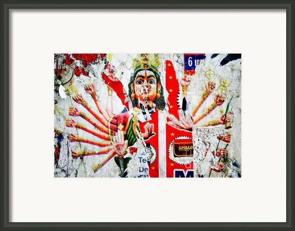 Kaliyuga Framed Print By Dev Gogoi