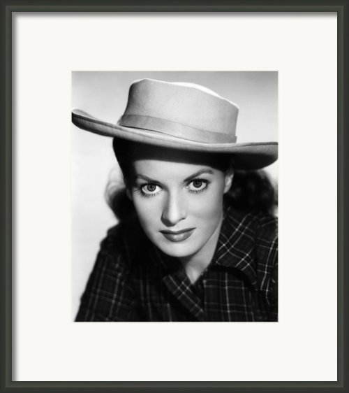 Kangaroo, Maureen Ohara,  1952 Framed Print By Everett