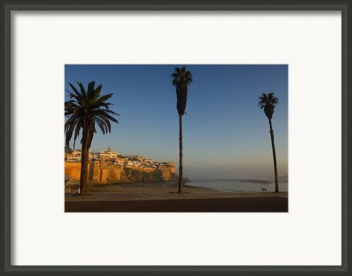 Kasbah Des Oudaias, Rabat Framed Print By Axiom Photographic